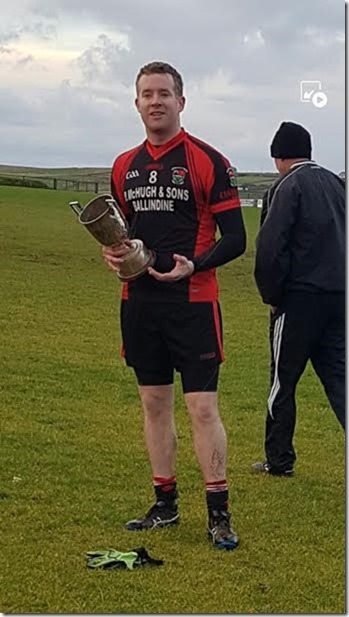 Captain Dec Healy 1B Cup
